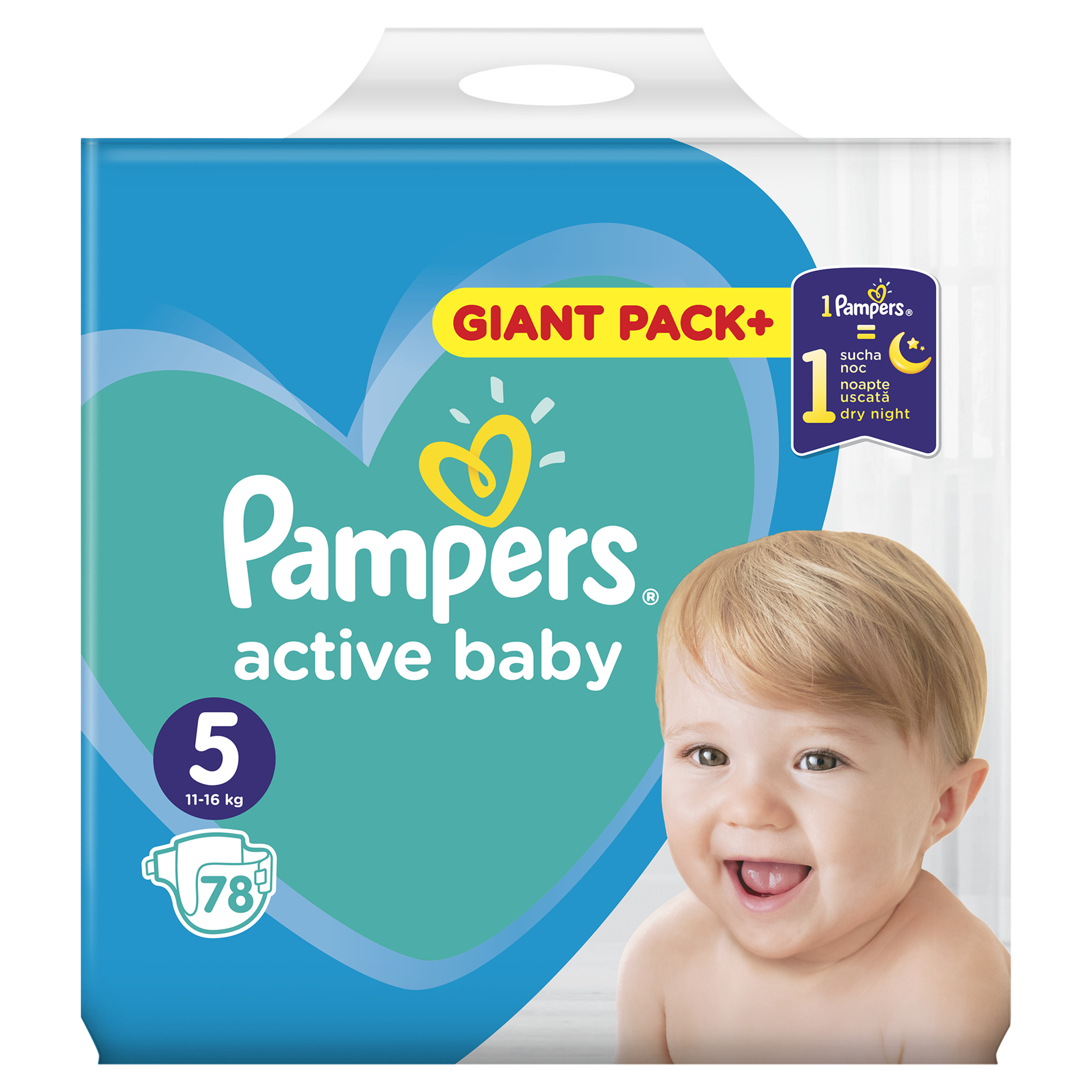 3f110ebf8b3 Pampers Active Baby Dry No5 78 τεμαχίων | Panesgiaolous