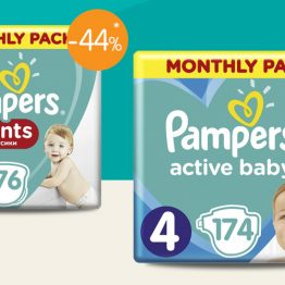Pampers Monthly Packs