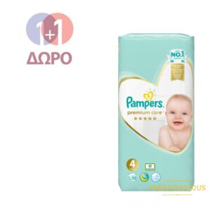 pampers premium care no4