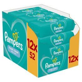 Μωρομάντηλα Pampers Fresh Monthly Βοx 624τεμ